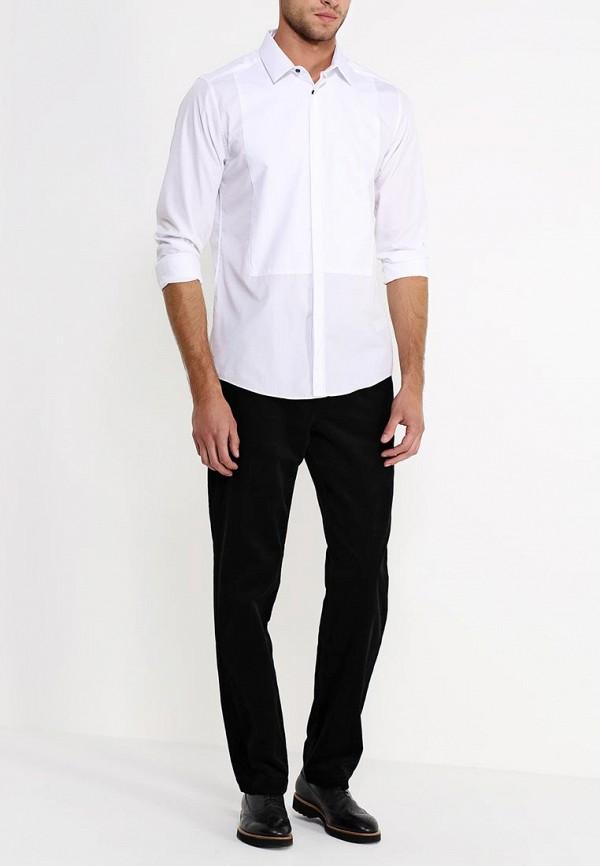 Рубашка с длинным рукавом Burton Menswear London 19F05GWHT: изображение 4
