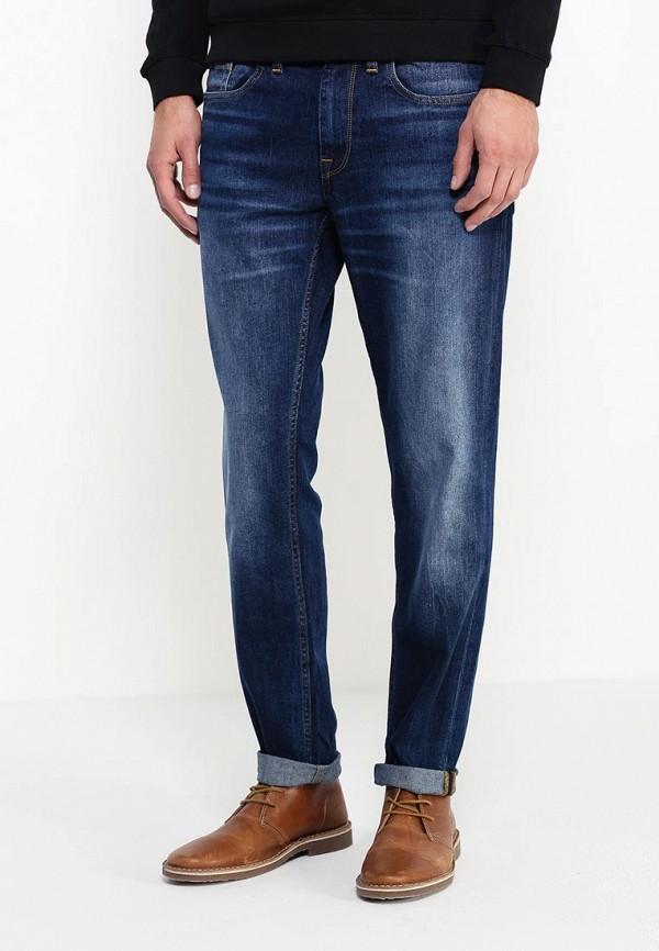 Мужские прямые джинсы Burton Menswear London 12S01HBLU: изображение 3