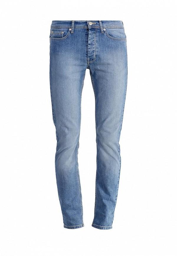 Зауженные джинсы Burton Menswear London 12S06HBLU: изображение 1