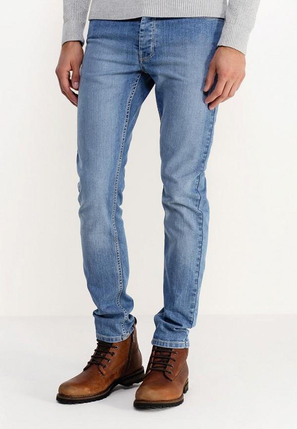 Зауженные джинсы Burton Menswear London 12S06HBLU: изображение 3