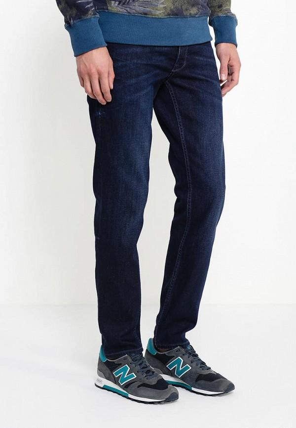 Мужские прямые джинсы Burton Menswear London 12S12HBLU: изображение 3