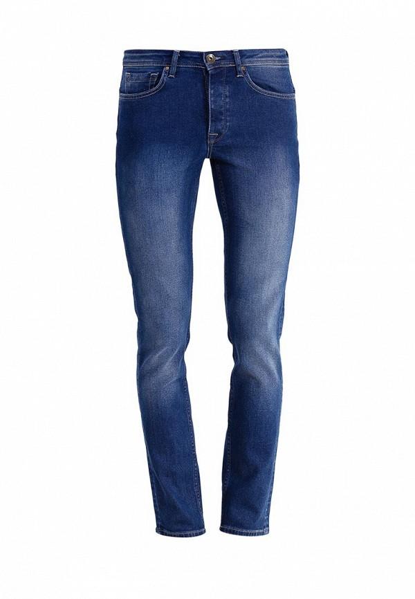 Зауженные джинсы Burton Menswear London 12S19HBLU: изображение 1