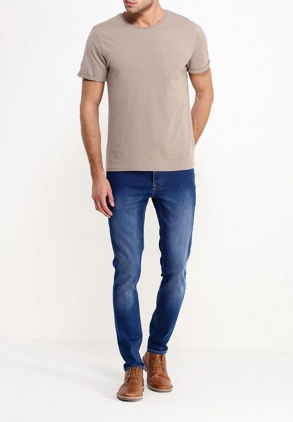 Зауженные джинсы Burton Menswear London 12S19HBLU: изображение 2