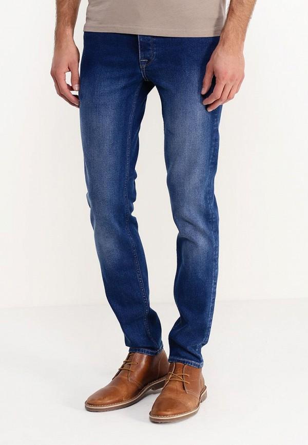 Зауженные джинсы Burton Menswear London 12S19HBLU: изображение 3