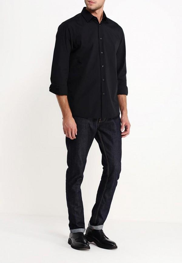 Рубашка с длинным рукавом Burton Menswear London 19B02GBLK: изображение 3