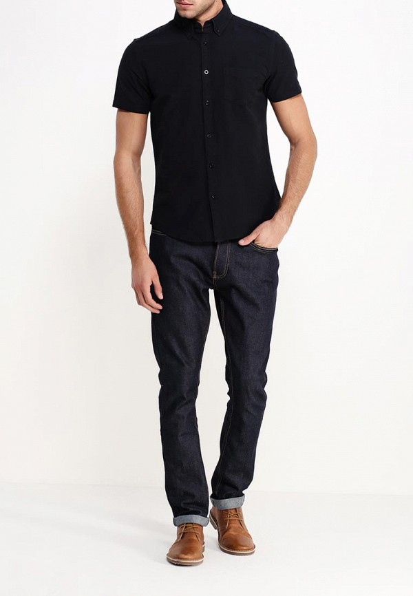 Рубашка с коротким рукавом Burton Menswear London 22D08GBLK: изображение 3