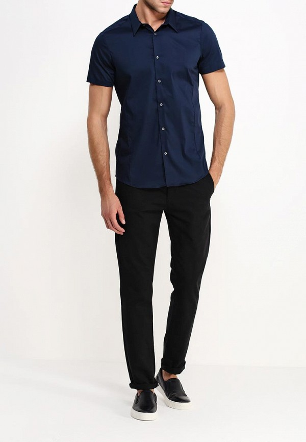 Рубашка с коротким рукавом Burton Menswear London 22D12GNVY: изображение 3