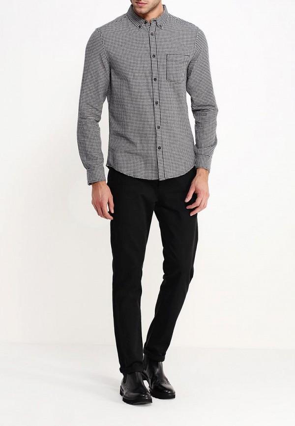 Рубашка с длинным рукавом Burton Menswear London 22G01HBLK: изображение 3