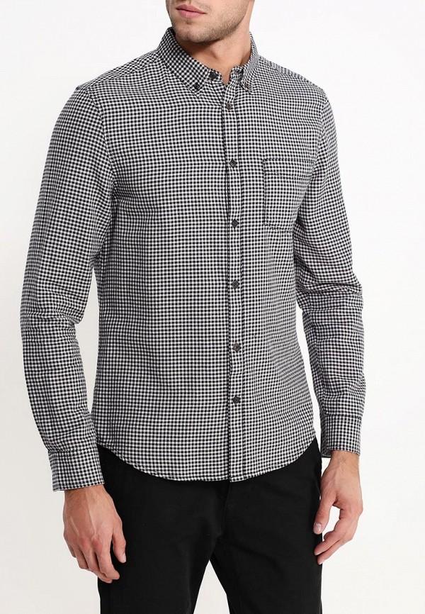 Рубашка с длинным рукавом Burton Menswear London 22G01HBLK: изображение 4