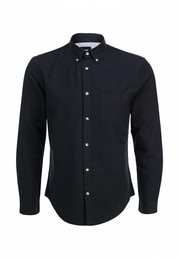 Рубашка с длинным рукавом Burton Menswear London 22O01HBLK: изображение 1