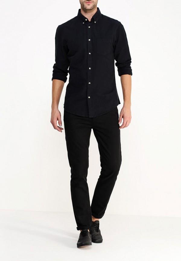 Рубашка с длинным рукавом Burton Menswear London 22O01HBLK: изображение 2