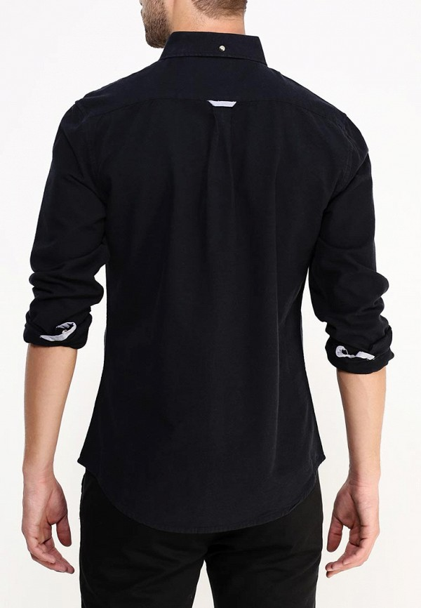 Рубашка с длинным рукавом Burton Menswear London 22O01HBLK: изображение 4