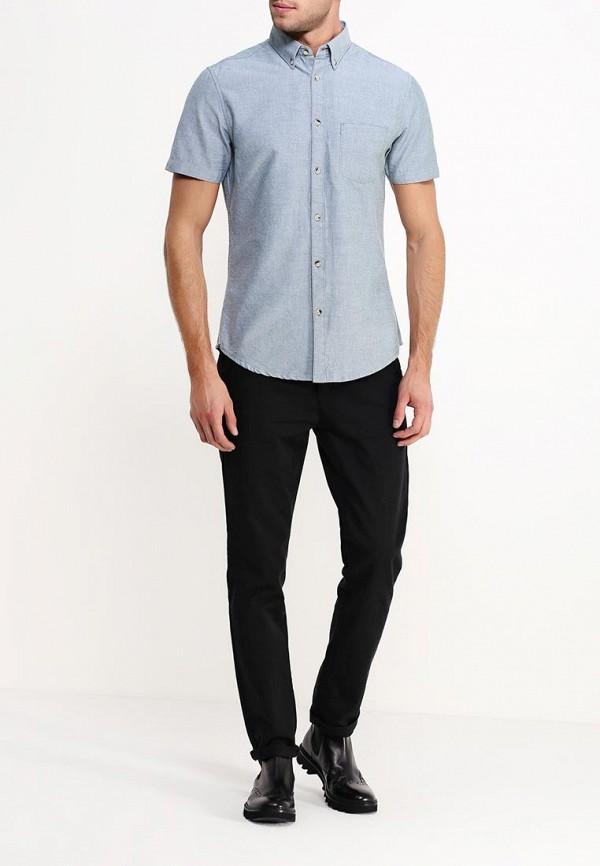 Рубашка с коротким рукавом Burton Menswear London 22O01HGRY: изображение 3