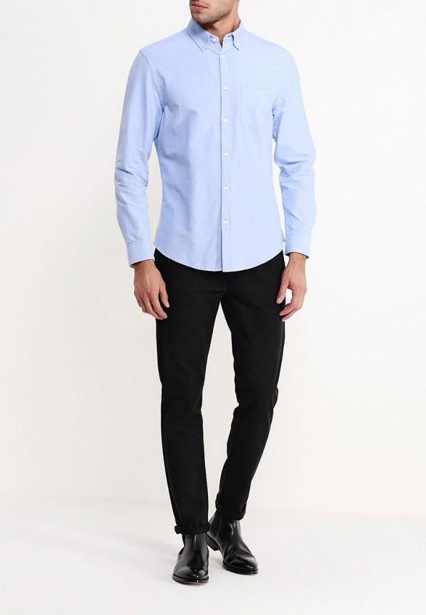 Рубашка с длинным рукавом Burton Menswear London 22O09GBLU: изображение 3