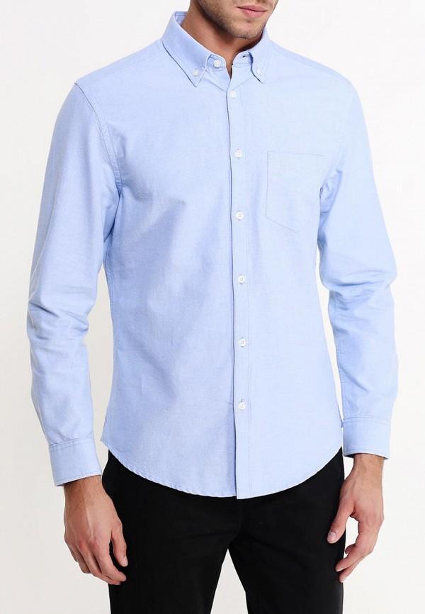 Рубашка с длинным рукавом Burton Menswear London 22O09GBLU: изображение 4