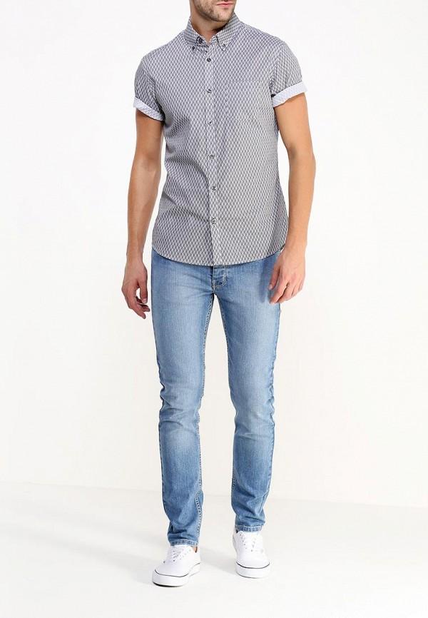 Рубашка с коротким рукавом Burton Menswear London 22P02HBLK: изображение 2