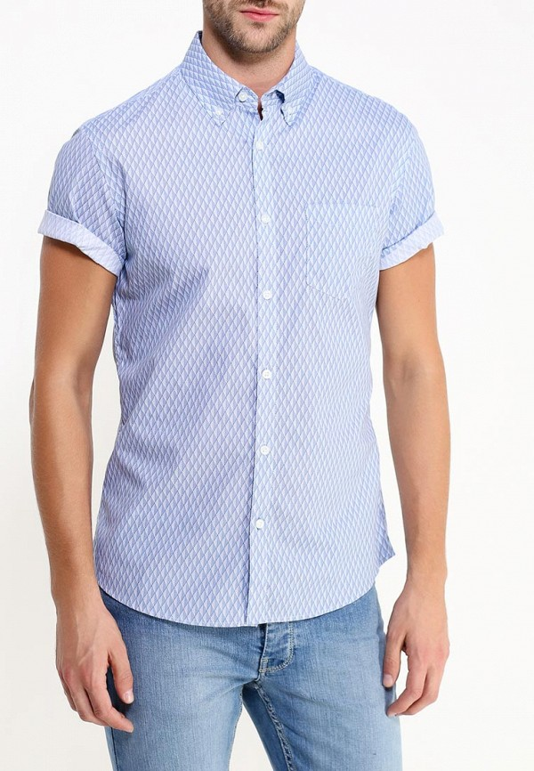 Рубашка с коротким рукавом Burton Menswear London 22P02HBLU: изображение 3