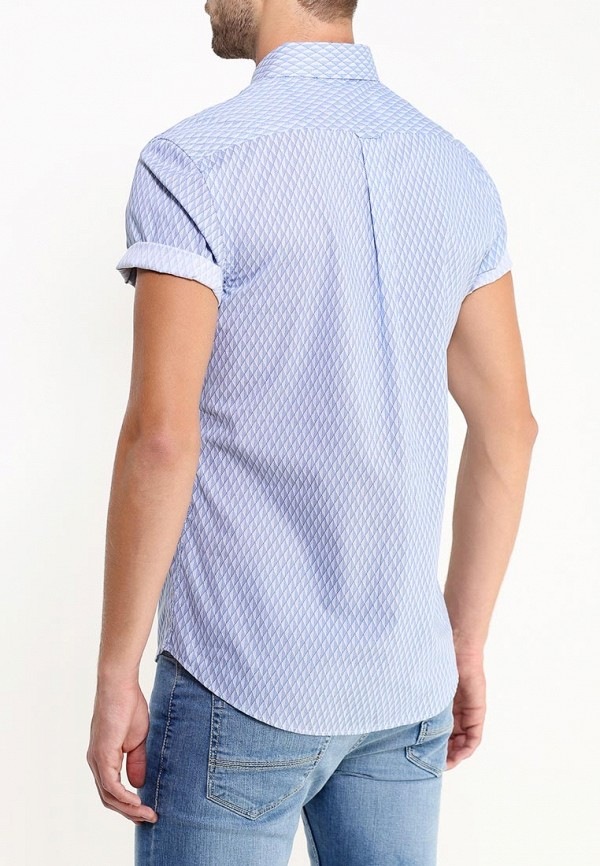 Рубашка с коротким рукавом Burton Menswear London 22P02HBLU: изображение 4