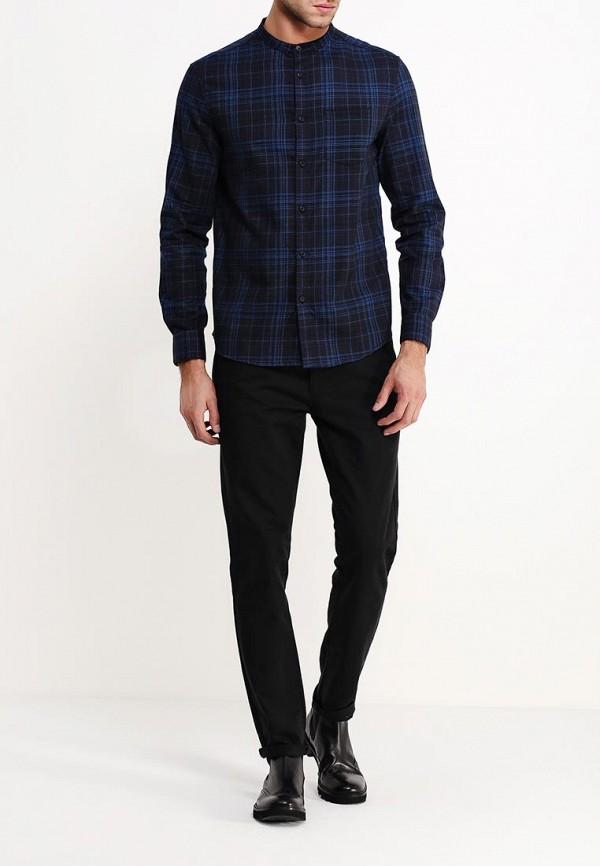 Рубашка с длинным рукавом Burton Menswear London 22R01HBLK: изображение 3