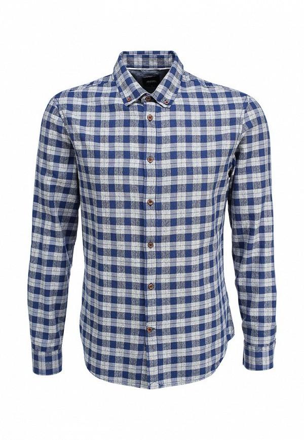 Рубашка с длинным рукавом Burton Menswear London 22R03HBLU: изображение 1
