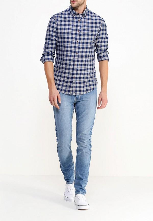Рубашка с длинным рукавом Burton Menswear London 22R03HBLU: изображение 2