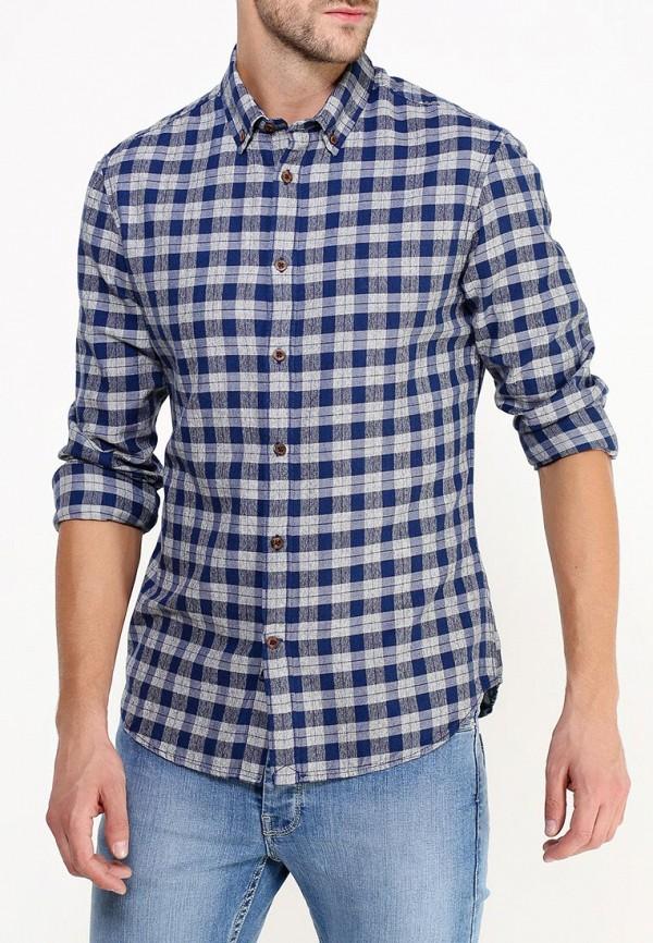 Рубашка с длинным рукавом Burton Menswear London 22R03HBLU: изображение 3