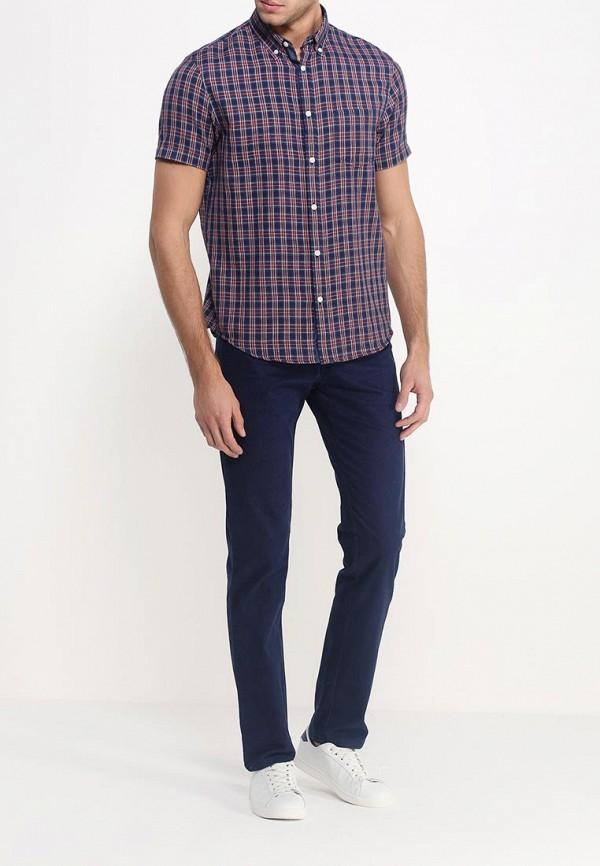 Рубашка с коротким рукавом Burton Menswear London 22S02HBLU: изображение 2