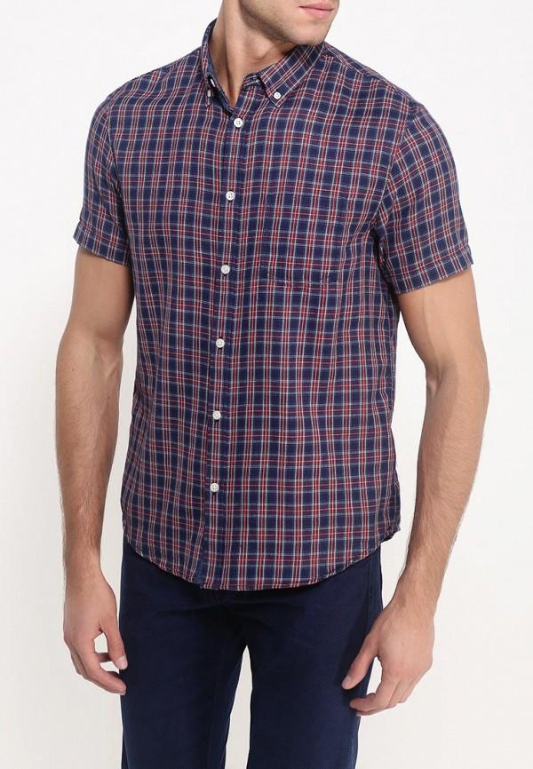 Рубашка с коротким рукавом Burton Menswear London 22S02HBLU: изображение 3