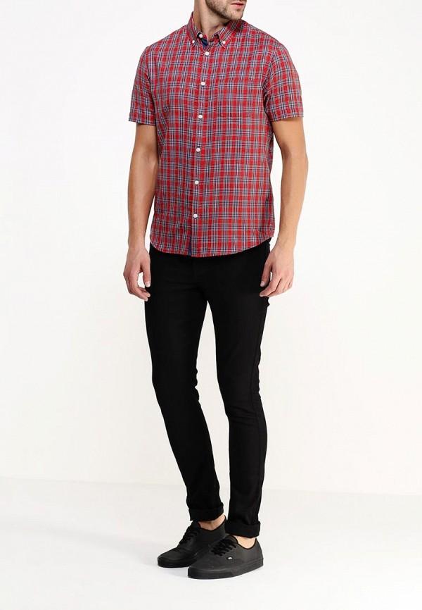 Рубашка с коротким рукавом Burton Menswear London 22S02HRED: изображение 2
