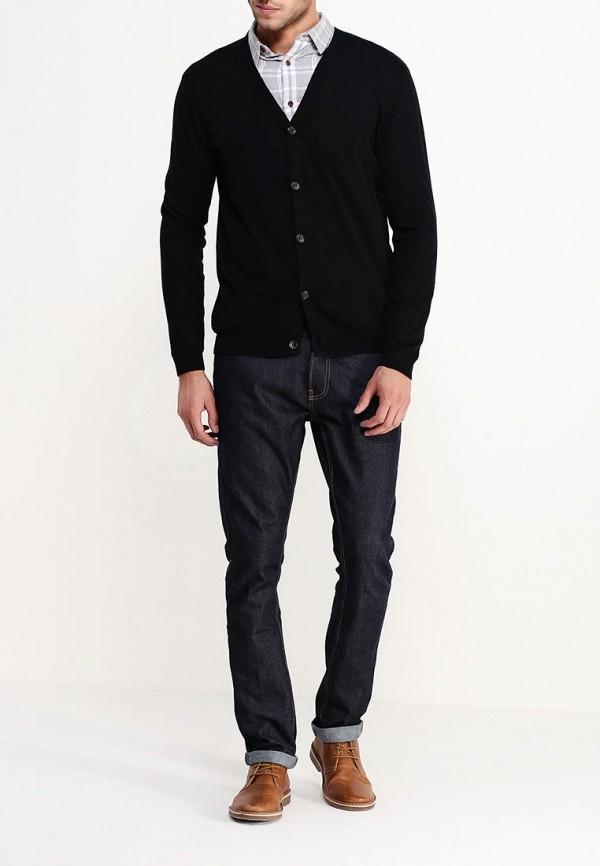 Кардиган Burton Menswear London 27O01HBLK: изображение 3