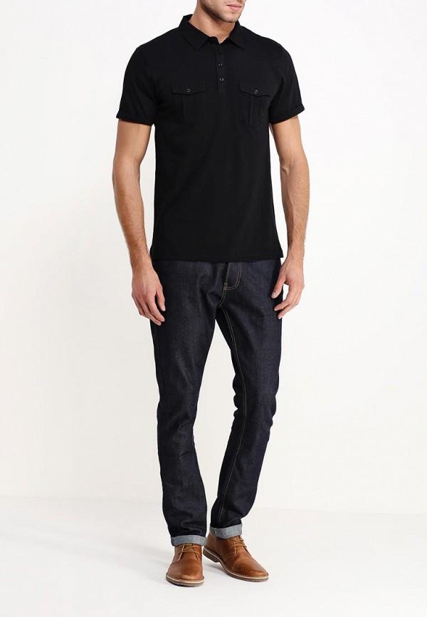 Мужские поло Burton Menswear London 45J01HBLK: изображение 3