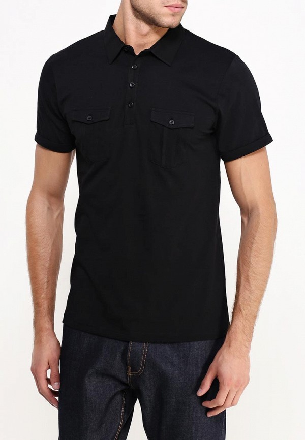 Мужские поло Burton Menswear London 45J01HBLK: изображение 4