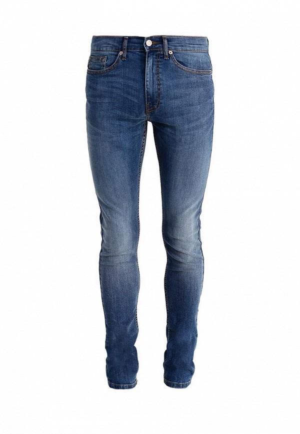 Зауженные джинсы Burton Menswear London 12S10HBLU: изображение 1