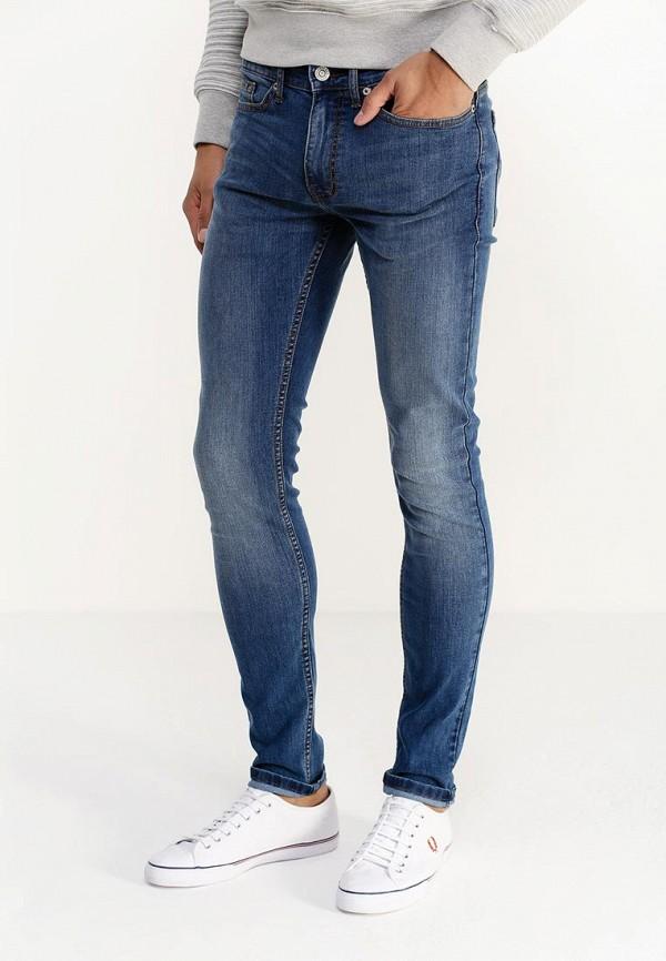 Зауженные джинсы Burton Menswear London 12S10HBLU: изображение 3