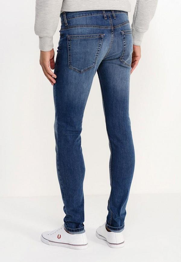 Зауженные джинсы Burton Menswear London 12S10HBLU: изображение 4