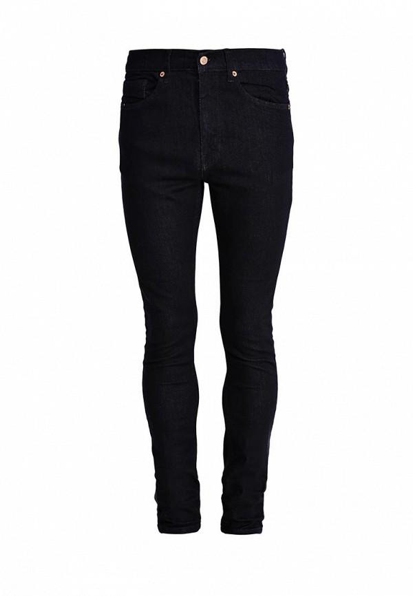 Зауженные джинсы Burton Menswear London 12S11HBLU