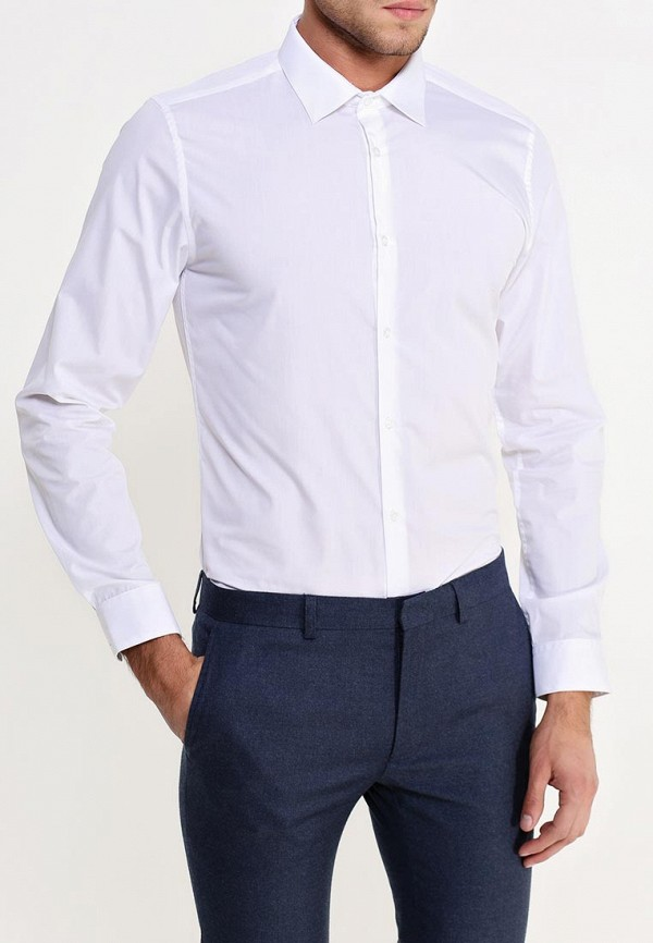 Рубашка с длинным рукавом Burton Menswear London 19B10HWHT: изображение 3