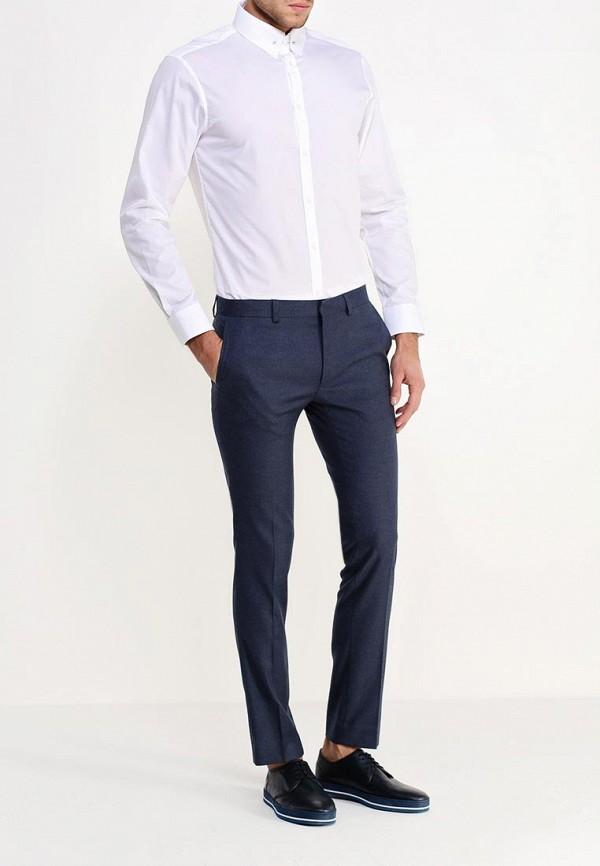 Рубашка с длинным рукавом Burton Menswear London 19B24GWHT: изображение 3