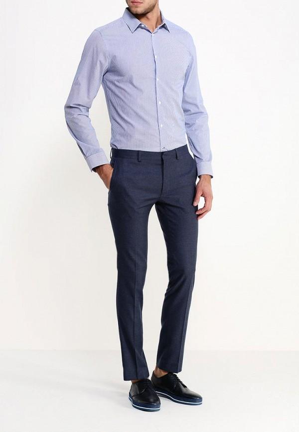 Рубашка с длинным рукавом Burton Menswear London 19S01HBLU: изображение 3