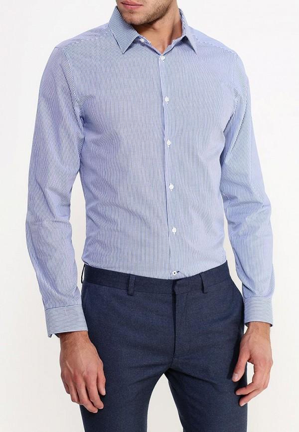 Рубашка с длинным рукавом Burton Menswear London 19S01HBLU: изображение 4