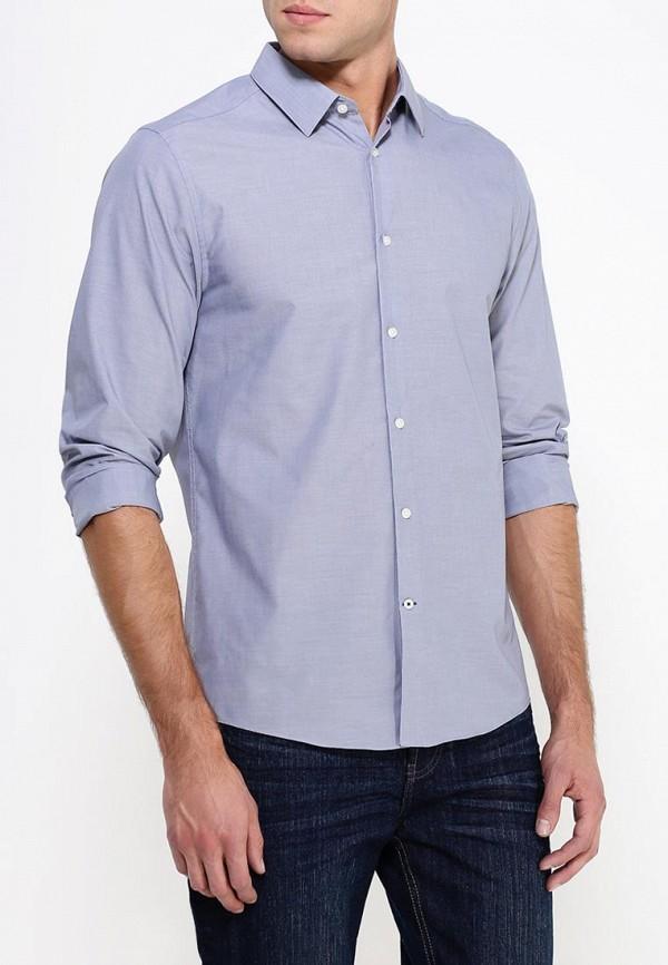 Рубашка с длинным рукавом Burton Menswear London 19S01HGRY: изображение 3