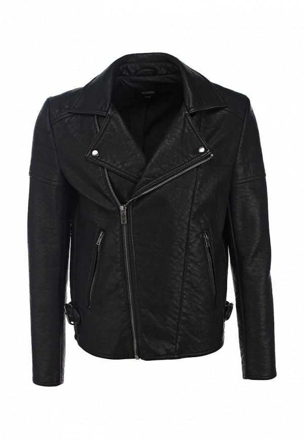 Кожаная куртка Burton Menswear London 06L08HBLK: изображение 1