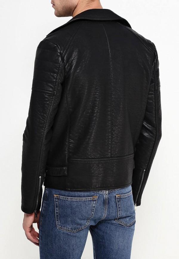 Кожаная куртка Burton Menswear London 06L08HBLK: изображение 4