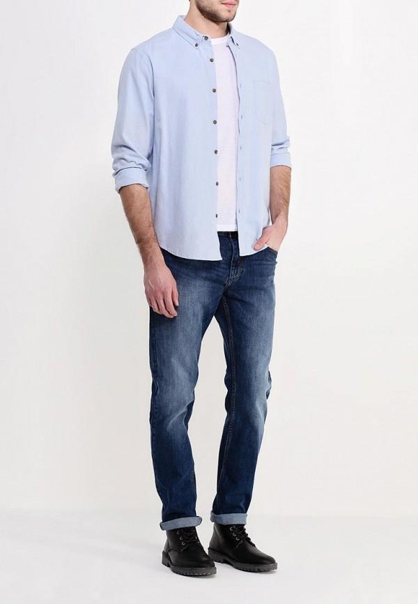 Рубашка с длинным рукавом Burton Menswear London 22O04FBLU: изображение 2
