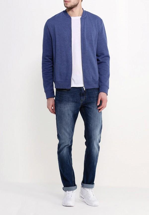 Рубашка с длинным рукавом Burton Menswear London 46A01HBLU: изображение 2