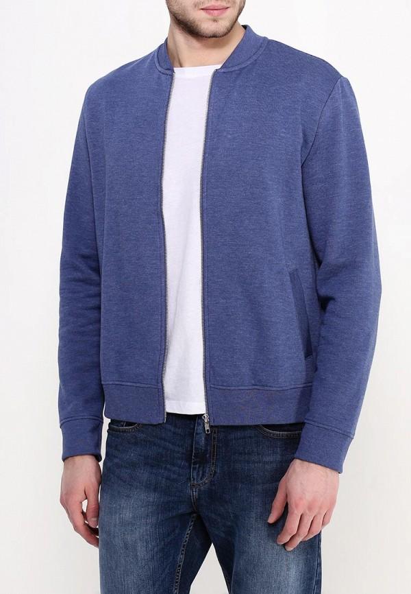 Рубашка с длинным рукавом Burton Menswear London 46A01HBLU: изображение 3