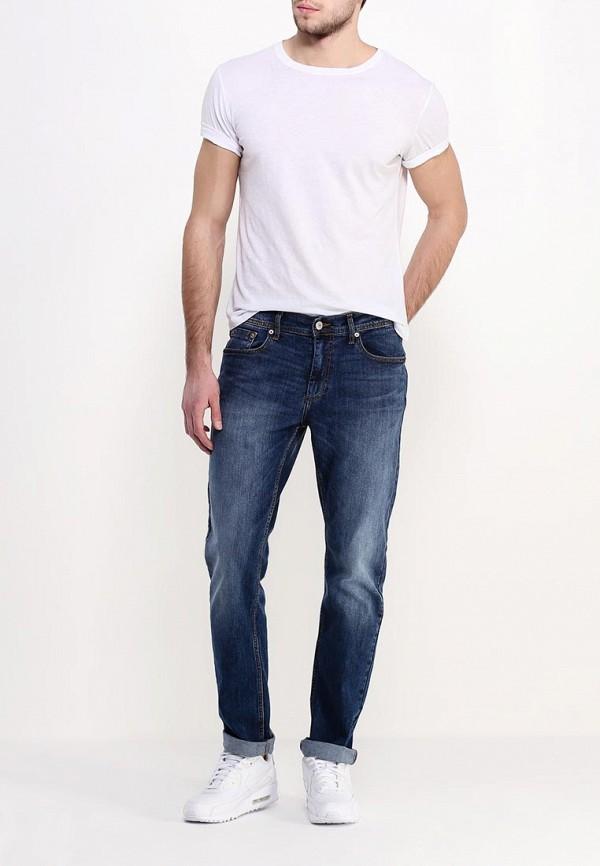 Мужские прямые джинсы Burton Menswear London 12A02IBLU: изображение 2