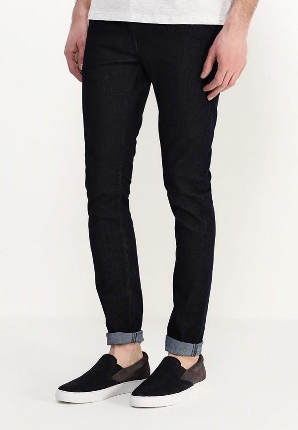 Зауженные джинсы Burton Menswear London 12S11HBLU: изображение 7
