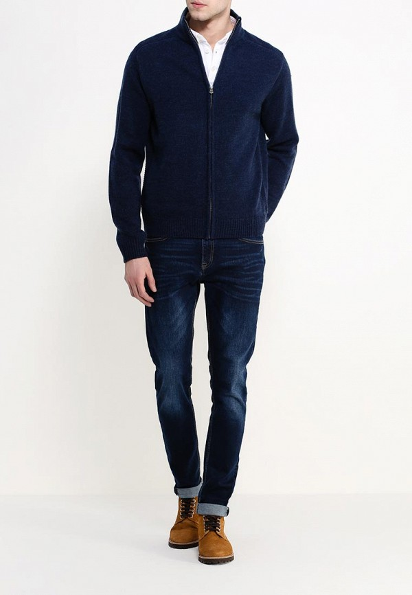 Кардиган Burton Menswear London 27A04HBLU: изображение 2