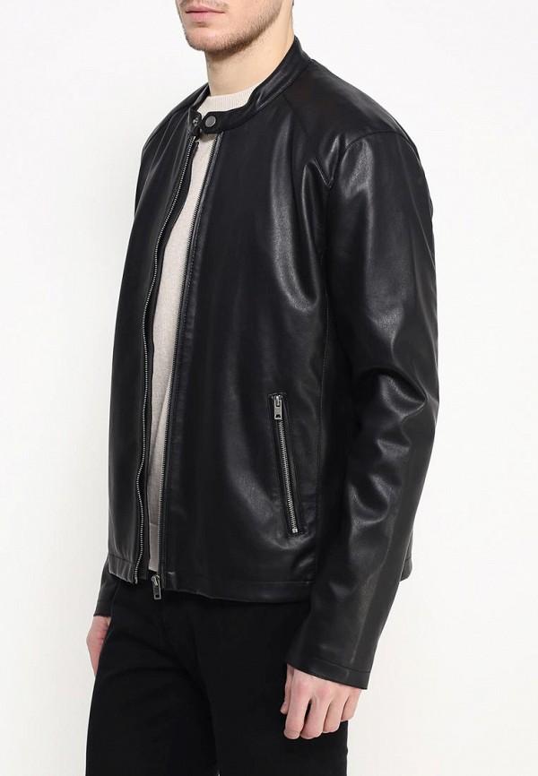 Кожаная куртка Burton Menswear London 06L07IBLK: изображение 3